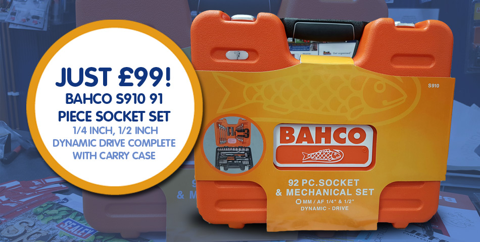 Bahco Socket Set Offer