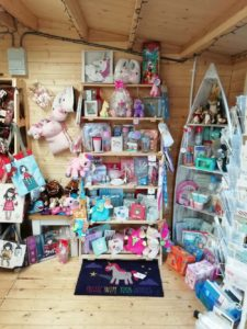 The Unicorn Themed Gifts Display at Fourways Country Store