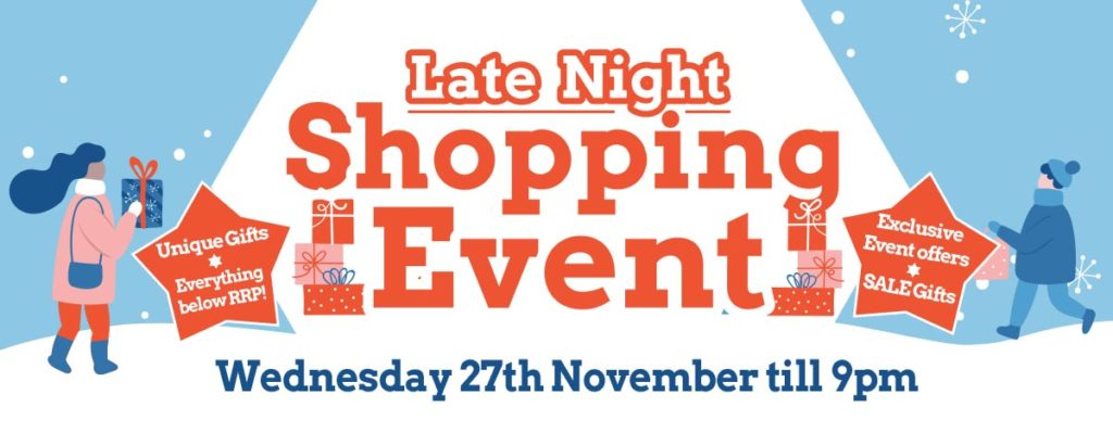 Late Night Christmas Shopping Event 2019